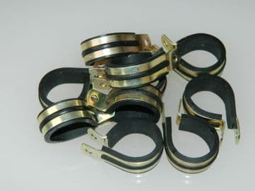 """P Clips Rubber Lined Clamps For 1"""" Pipe Part AS5419-16[END1K]"""