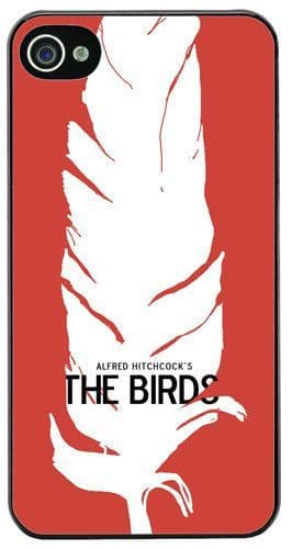 Alfred Hitchcock The Birds Movie Film Poster HD Cover/Case Fits iPhone 4/4S