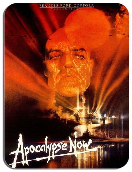 Apocalypse Now Movie Poster Mouse Mat. Classic War Film High Quality Mouse pad