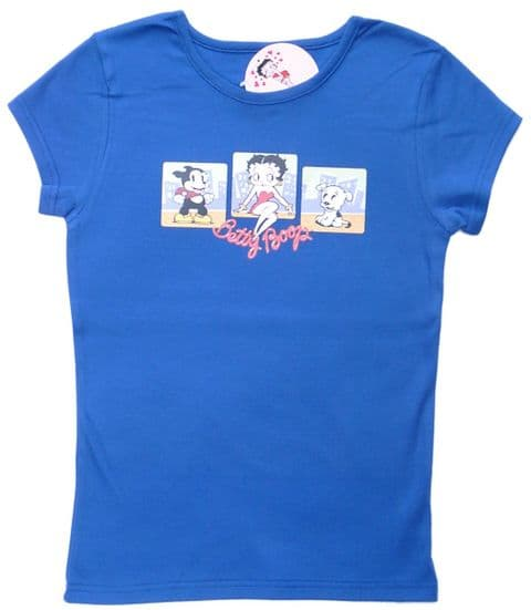 Betty Boop T Shirt 3 squares