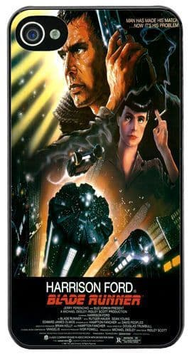 Blade Runner Vintage Movie Film Poster Cover/Case For iPhone 4/4S