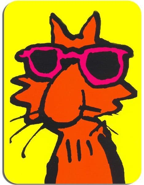 Fat Freddy's Cat Mouse Pad. Freak Brothers Mouse Pad