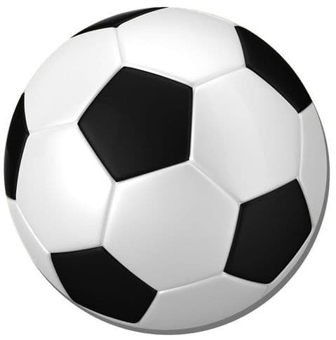 Football Round Mouse Mat. Soccer Ball Round Mouse pad. Sports Gift