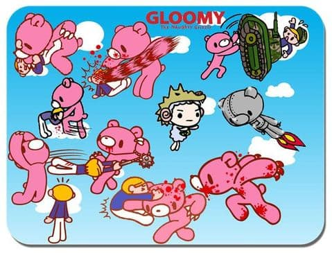 Gloomy Bear Mouse Mat Cartoon Animation Comic Novelty Mouse pad