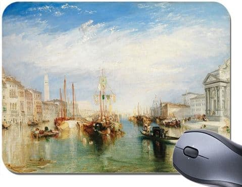 JMW Turner Venice From The Porch of Madonna Mouse Mat. High Quality Mouse Pad