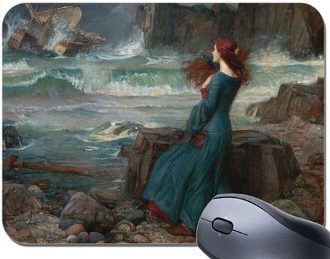 John William WaterhouseThe Tempest Mouse Mat. High Quality Art Mouse Pad
