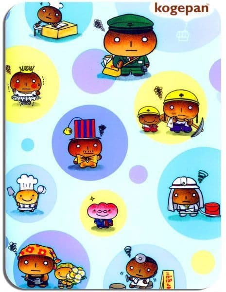 Kogepan Character Mouse Mat Japan Animation Kogepan Burnt Bread Man Mouse pad