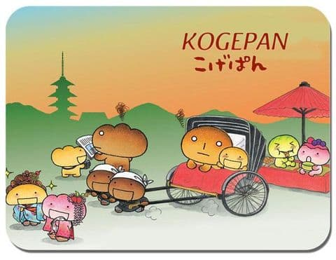 Kogepan Mouse Mat Cartoon Animation Comic Novelty High Quality Mouse pad Kawaii