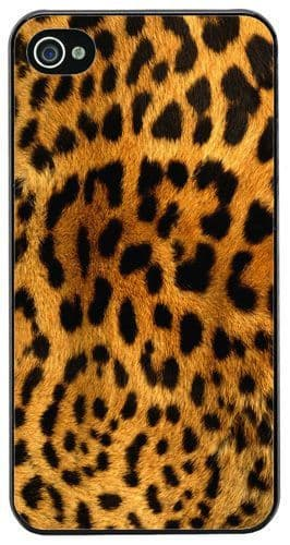 Leopard Skin High Quality Cover Case For iPhone 4/4S Animal Print Design