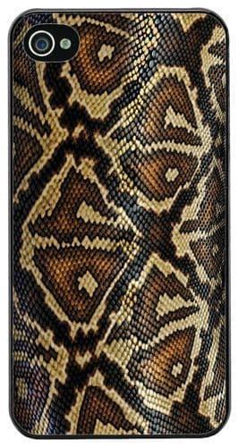 Snake Skin Print High Quality Cover Case For iPhone 4/4S Reptile Art Gift