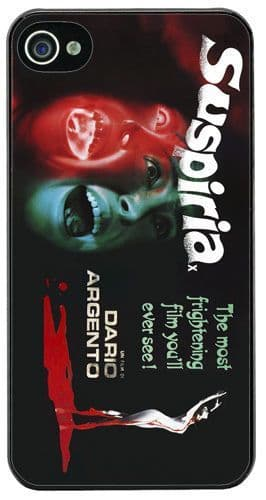 Suspiria Dario Argento Horror Movie Film Poster HD Cover/Case Fits iPhone 4/4S