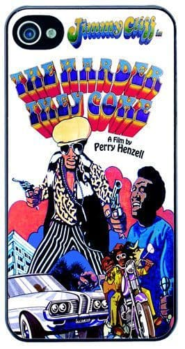 The Harder They Come Jimmy Cliff Movie Poster Cover/Case Fits iPhone 4/4S. Gift