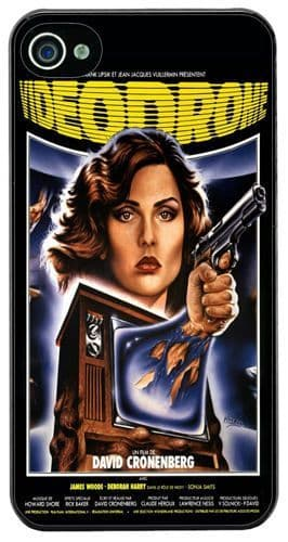 Videodrome Vintage Movie Poster HD Cover/Case For iPhone 4/4S Classic Cronenberg
