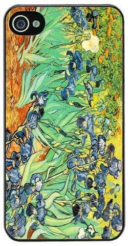 Vincent Van Gogh Irises High Quality Cover/Case For iPhone 4/4S. Fine Art Gift