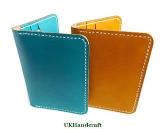 Colourful Leather Card Holder Wallet