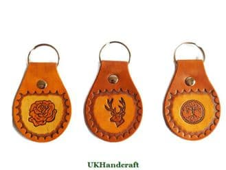 Leather Picture Key Rings (Part 2)