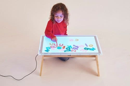 A2 Colour Changing Light Panel & Table Set (Free Delivery)