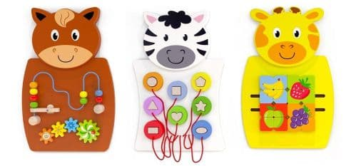 Animals Activity Wall Set 3pk (Free Delivery)