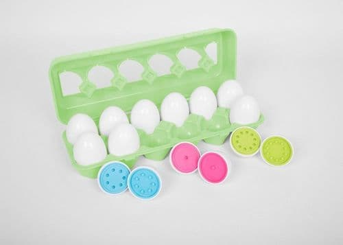 Colour Match Eggs 12pk