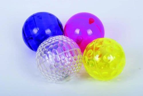 Large Textured Sensory Flashing Balls 4pk