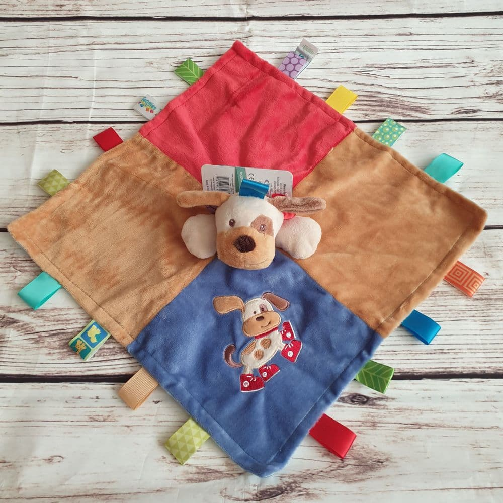 Buddy Dog Taggies Taggy Comforter Blanket by Mary Meyer Baby