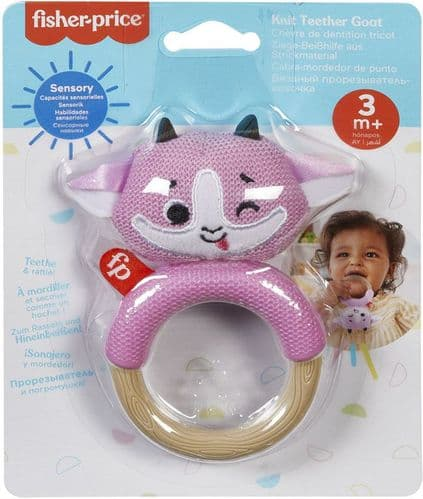 Fisher Price Knit -knack Rattle Pals Assorted