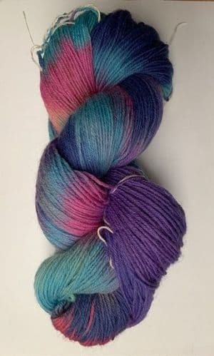 Araucania Ranco Multi - Blend of lilac, pink, blue and a little yellow