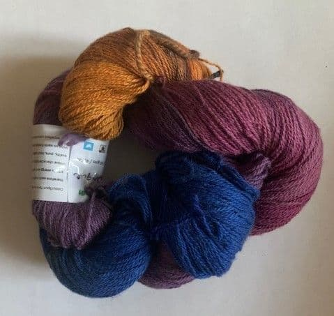 Colourspun lace cotton