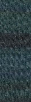 Lang Mille Colori Socks & Lace Luxe - Turquiose to dark greens