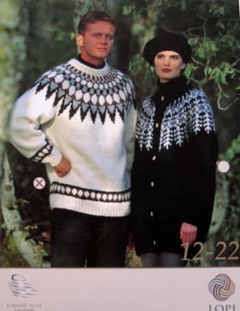 Lopi Pattern for Adults: Code 12-2 or 12-22