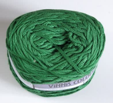 Nikkim cotton - Bright green