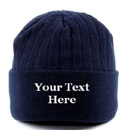 Personalised Beanie Thinsulate Woolly Winter Hat - Beechfield BC447
