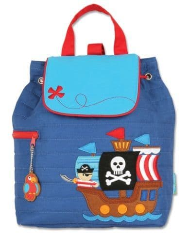 Stephen Joseph Quilted Pirate Backpack