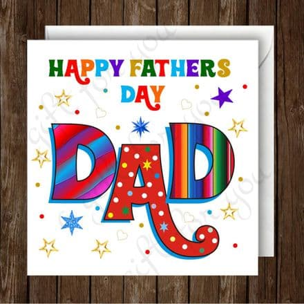 Happy Fathers Day Dad Card 2