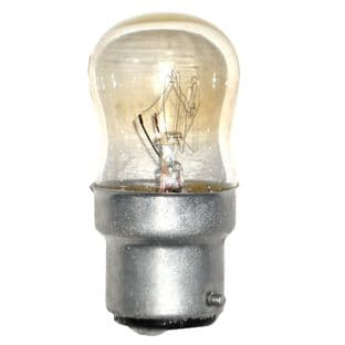 15w Pygmy bulb - Clear BC fitting