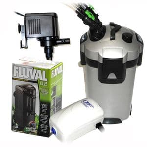 Aquarium filtration/airation