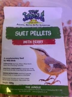 Suet Pellets with Berry