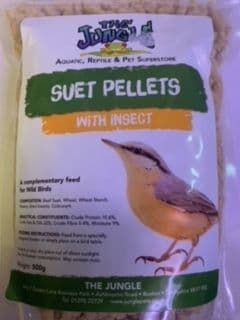 Suet Pellets with Insect