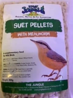 Suet Pellets with Mealworm