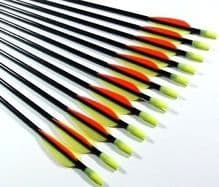 "28"" Superfast Fibreglass Arrows 6pk"