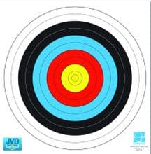 60cm FITA Approved Archery Target Faces - Qtys 5/10/20/50/100