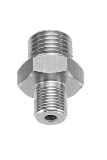 PCP Charging Hose Quick Coupler 1/8 BSP Male -1/4 BSP Male Adapter- Silco Sports Solihull