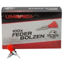 UMAREX AIR RIFLE GUN PISTOL AIRGUN STEEL FEATHERED DARTS .177