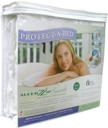 PROTECT-A-BED ALLERZIP Mattress Cover (SMALL DOUBLE)