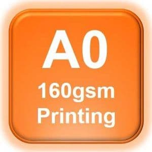 A0 Poster Printing 160gsm | A0 Printing from £11.00