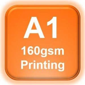 A1 Poster Printing 160gsm | A1 Printing from £6.90