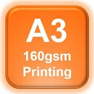 A3 Poster Printing 160gsm   A3 Printing from £2.60