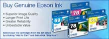 Epson Stylus Pro 4800 Inks and Accessories