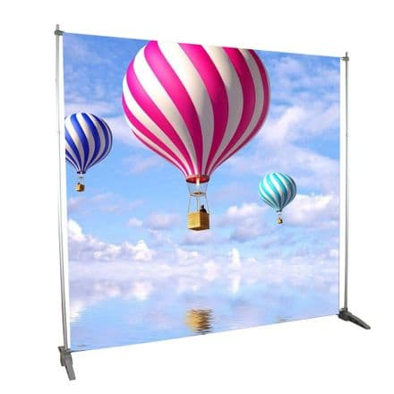 Height and Width Adjustable Banner Stand,  Flexible To Fit All Kinds Of Venue -CCPUUB165-S