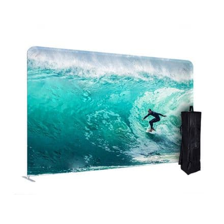 Ideal back wall or dividing wall Banner Stand ensuring an exhibition space - CCFORM-STR